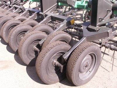 Посевной комплекс Кузбасс прикатывающие колеса