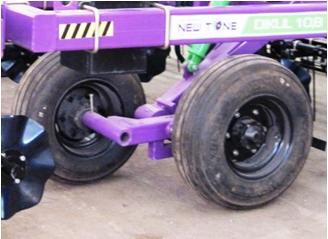 Тандемное колесо культиватора