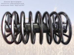 Каток культиватора спиральный