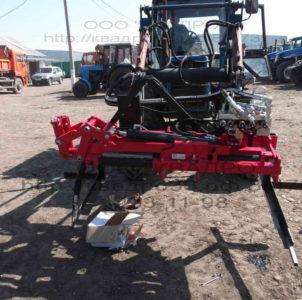 Монтаж обрезчика деревьев PFP на трактор