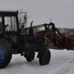 Обрезчик деревьев на тракторе МТЗ