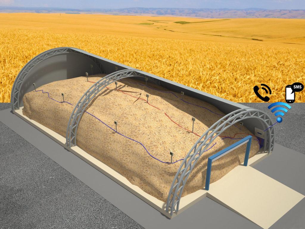 Построить зерно склад своими руками 57